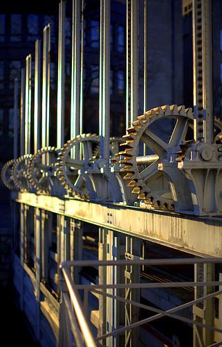 Le pont de la machine