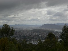 Hobart From Mount Noble