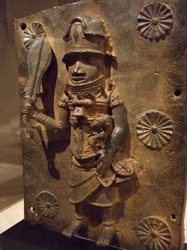 Copper work from the Benin Empire in Nigeria