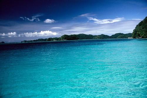 Palau - Ocean of blue...