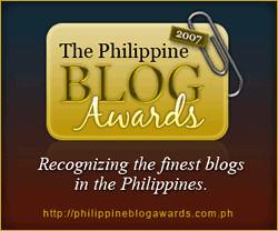 Philippine Blog Awards 2007