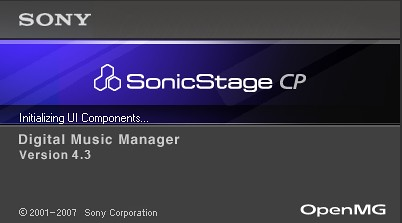 sony sonicstage cp 4.3