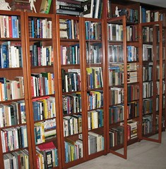 My home library (scampion) Tags: glass reading book blog doors library libraries books blogs explore bookshelves shelves bookcases reviews nonfiction libslibs mostlynf