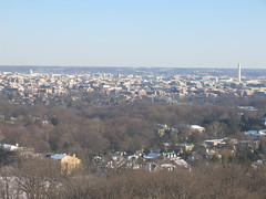 DC From the Cathedral Tower (Happy Monkey) Tags: above city winter washingtondc dc washington high cityscape view cathedral national vista nationalcathedral 20016