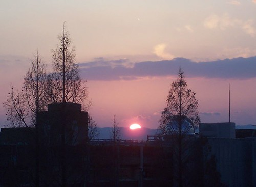Sunset from Yukawa