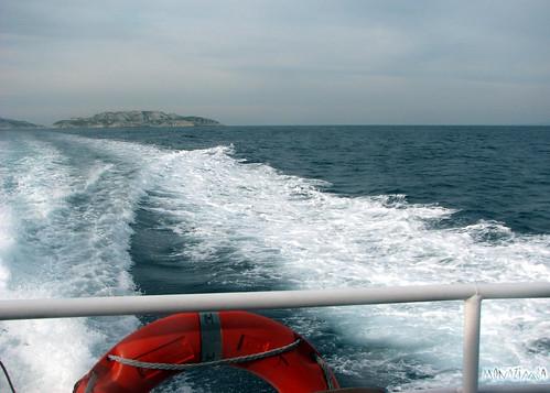 Sur le pont du navire