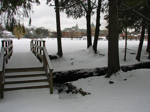 New Rochelle HS After Snow
