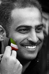 Every One Celebrate - Kuwait national day (Ammar Alothman) Tags: portrait blackandwhite bw man face canon cutout interesting flickr day gulf calendar flag explore kuwait february independence independenceday ammar kuwaitcity kw 2007 q8 30d 2526  canon30d kuwaitflag  ammaralothman  kuwaitiphotographer kuwaitphoto kuwaitphotos ammarphotos ammarq8 ammarphoto kuwaitindependenceday hellofebruary halafebruary hellofebruaryfestival halafebruaryfestival kuwaitvoluntaryworkcenter   kuwaitnationalday  2526february       2526