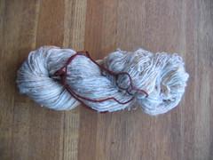 Spun Merino/cotton/flitter/fake cashmere