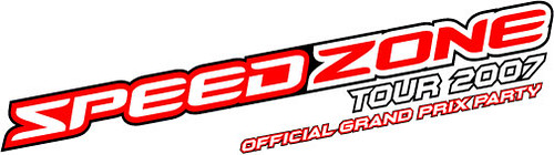 Speed Zone Tour 2007 Logo LATEST