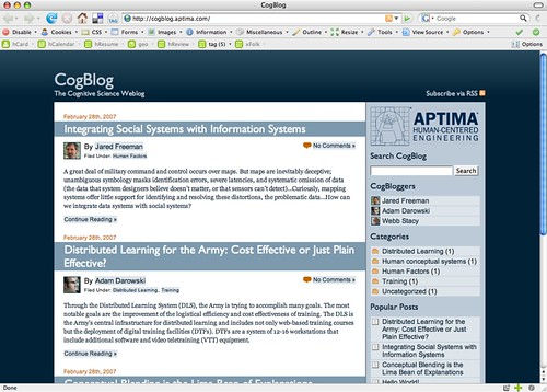 Final CogBlog screen shot