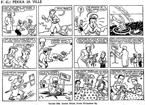 Pekka ja Ville 1943