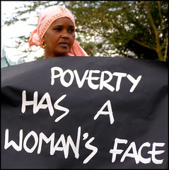poverty has a woman's face