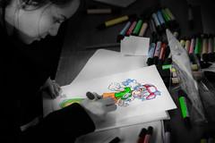 colors (Erathic Eric) Tags: paris anime color pencil geotagged sketch comic manga salon draw letraset cs3 400d geo:lat=4888710874138038 geo:lon=2288693364948677 ericbenacek erathiccom