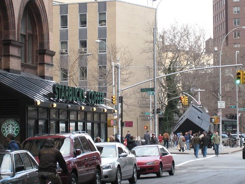 2 Starbucks - NYC Astor Place