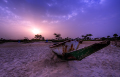 Sunrise in The Gambia