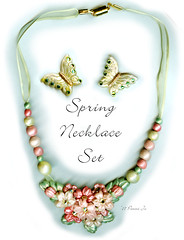 Spring Necklace Set