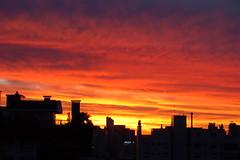 Porto Alegre em chamas