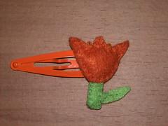 Tulipa (M_DE_FLOR) Tags: kid flor artesanato craft felt criana feltro nio gancho fieltro