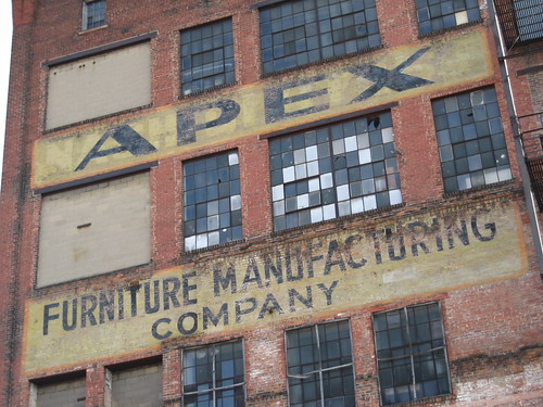 Apex Furniture Manufacturing Company. Before Being Apex, This Was The Ice  House For The Christian Moerlein Brewery.