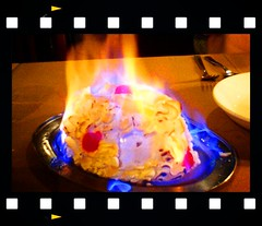 Birthday Baked Alaska