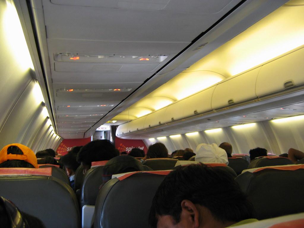 Spicejet Flight Goa - Delhi