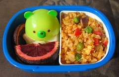Kimchi fried rice lunch for toddler