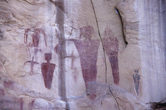 Sego Canyon (bclee) Tags: utah style canyon barrier rockart bcs pictograph sego nikoncoolscanived
