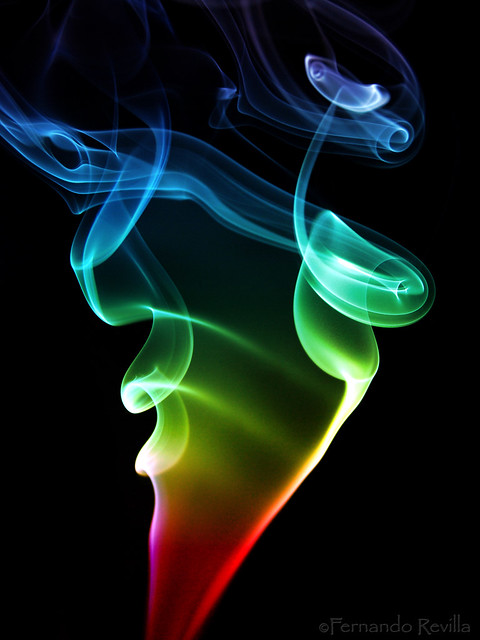 Smokey rainbow