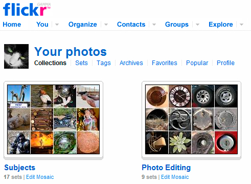 Flickr Collections