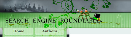 St Patricks Day Theme for Search Engine Roundtable