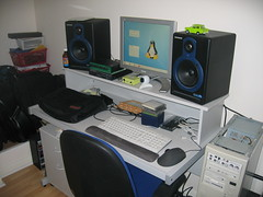 'tenchi' and my home studio gear (2007)