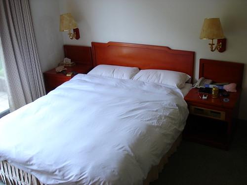 紘冠套房的床