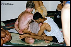 Sharath Teaching In Mysore (yogasurf) Tags: travel india yoga student teaching mysore asana sharath ashtanga ashtangayoga ayri yogasurf srikpattabhijois mattcorigliano