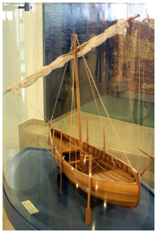 Replica of First Century Galilee Boat