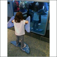 Who's the whale in the mirror (breyeschow) Tags: aquarium bay monterey analise