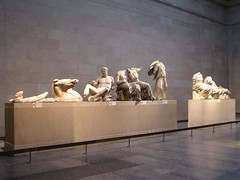 Elgin Marbles, British Museum (Aaron A. Aardvark) Tags: london britishmuseum ancientgreece elginmarbles