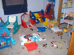 Disaster area (kschemdawgswife) Tags: boy sleeping big babies daisy rugrat