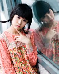 Akina (swanky) Tags: portrait people woman cute girl beautiful beauty face canon asian eos md model women asia pretty sweet femme taiwan 85mm babe belle taipei   taiwanese 2007   30d   dcview  akina      canonef85mmf18usm       emiruemirue mtv mtv ak