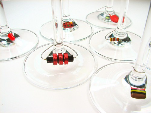 Component Wine Charms