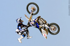 Are you ready to fly ! (Ammar Alothman) Tags: show sky holiday sports bike sport festival work canon fly flying flickr gulf action bikes motorcycle kuwait  center extremesport kw 2007 q8 30d ahmadi voluntary city  festival  ca