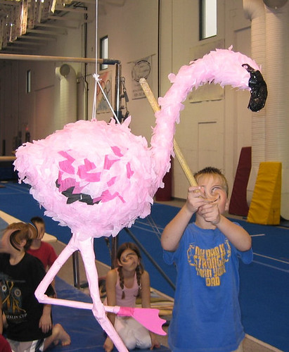Flamingo beheading