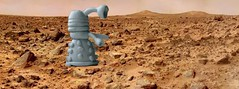 Dalek on Mars