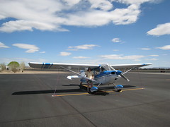 Citabria N5156X at Silver Springs, Nevada