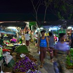 Yangon, Nachtmarkt