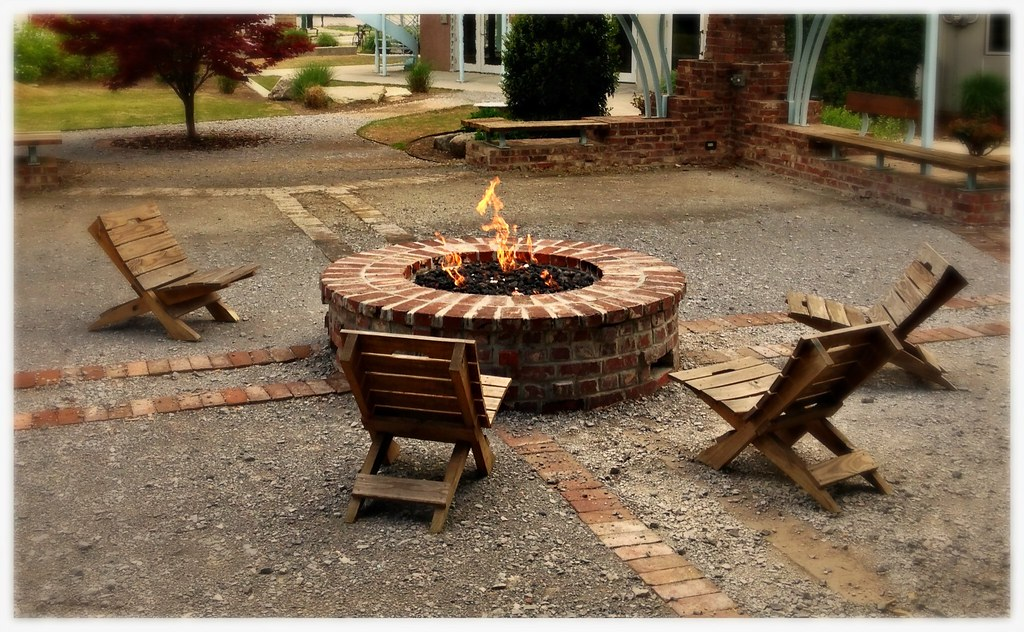 Custom HPC Firepit. Chattanooga, Tn.