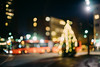 Lights (borishots) Tags: lenstagger lights trafficlights bus bokeh bokehlicious bokehwhore tree christmastree christmas streets street streetphotography canonfd55mmf12ssc canonfd55mmf12 sonya7 wideopen f12 grain iso analog retro vintage orange green white red blue aqua