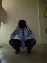 A boy getting punishment (sirspankmesir) Tags: boy unifrom shirt tie punishment school schoolboy teacher ear holding humiliation hazing stress
