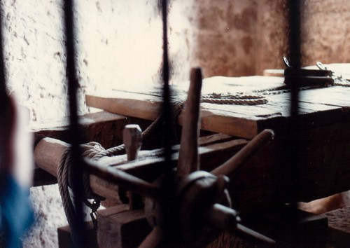 1984 Burg Bewartstein Torture Devices 02 (broken thoughts Flickr: Click image)