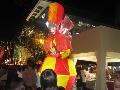 The Stilt Man